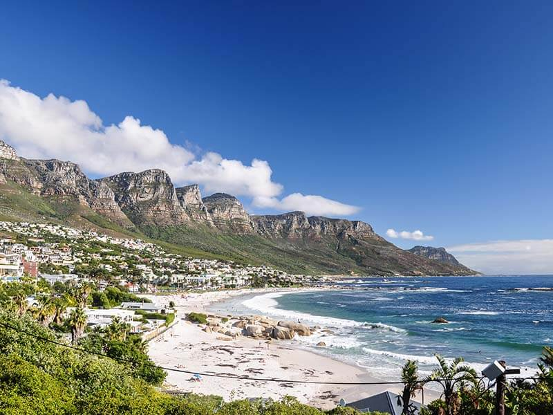 Camps Bay Cape Town South Africa Beach Vacation